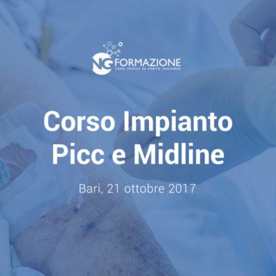 Corso Impianto Picc e Midline Bari 21 ottobre 2017